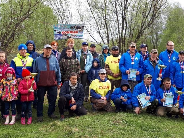 Участники и организаторы соревнований.