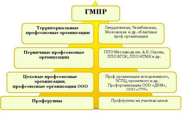 Структура ГМПР
