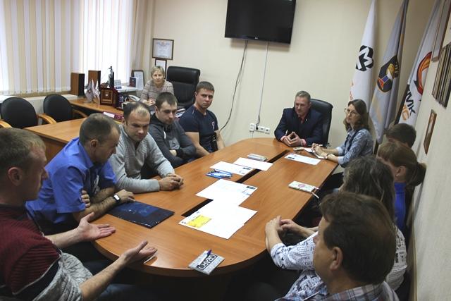 Встреча профсоюзных лидеров